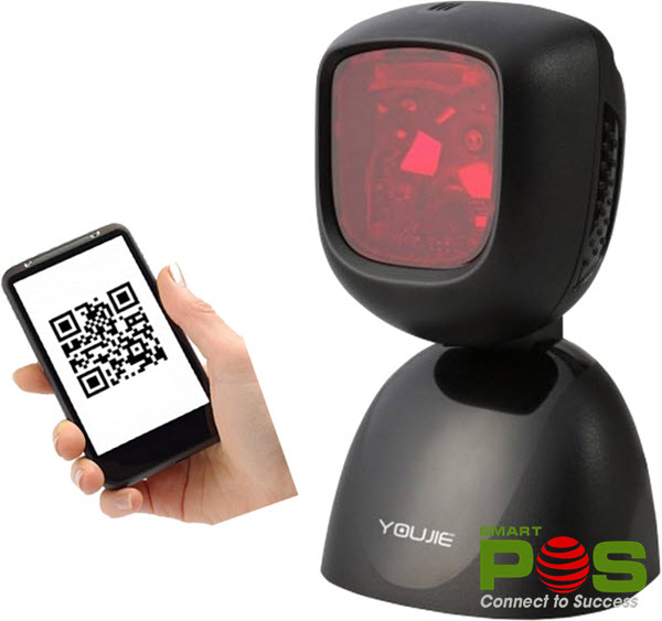 Đầu đọc mã vạch 2D Honeywell Youjie HF600 đa hướng để bàn- hình ảnh 4