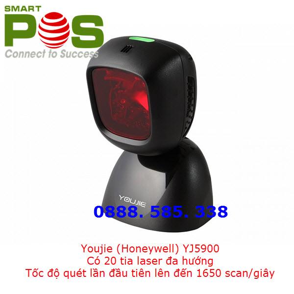 Đầu đọc mã vạch đa tia Youjie YJ5900 Laser (Honeywell) - Hình ảnh 1