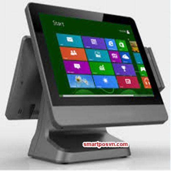 Máy bán hàng POS E715VFD (Tích hợp màn hình hiện thị giá)
