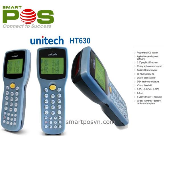 Máy kiểm kê kho hàng Unitech HT630 chính hãng giá rẻ - Ha1